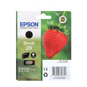 Cartouche Epson T2981 noire Série 29 Fraise