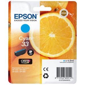 Cartouche encre Epson T3342 Cyan - Oranges