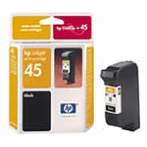 Cartouche encre HP 51645AE N°45 Noire