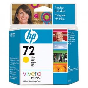 Cartouche encre HP C9400 - 72 Jaune