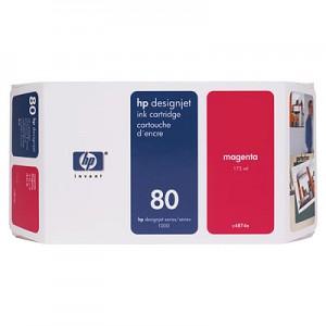 Cartouche encre HP C4874A N°80 Magenta