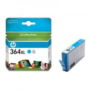 Cartouche encre HP 364XL Couleur Cyan -CB323EE