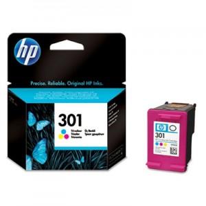 Cartouche HP N°301 Couleur CH562EE