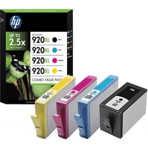 Pack de 4 Cartouches HP 920xl -C2N92AE
