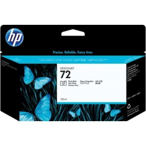 cartouche HP C9370A - 72 Noir photo