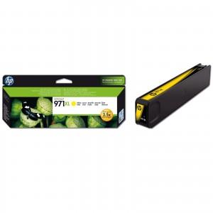 Cartouche encre HP 971XL jaune