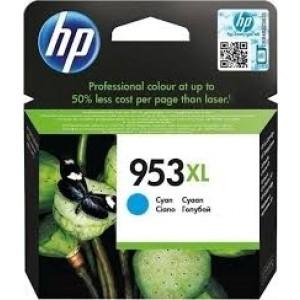 HP 953XL -  cartouche encre HP Cyan 953XL F6U16AE
