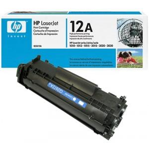 Cartouche Laser HP 12A / Q2612A