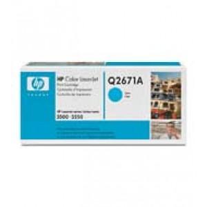 Cartouche Laser HP Q2671A Cyan