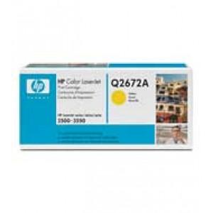 Cartouche Laser HP Q2672A Jaune