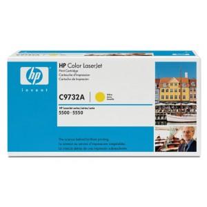Cartouche Laser HP C9732A Jaune