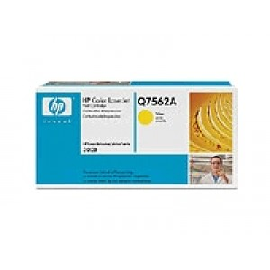 Cartouche Laser HP Q7562A Jaune