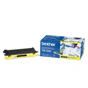 Toner laser Brother TN 135Y Jaune