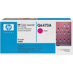 Cartouche laser HP Q6473A  Magenta
