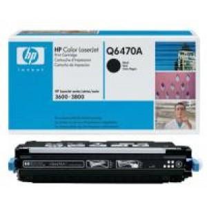 Cartouche Laser HP Q6470A Noire 6000 Pages