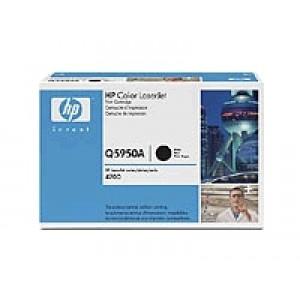 Cartouche Laser HP Q5950A Noire pour CLJ 4700 serie