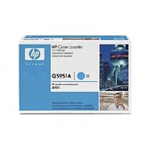 Cartouche Laser HP Q5951A  cyan