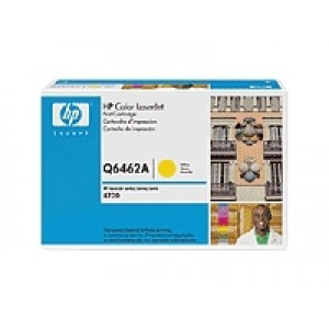 Cartouche laser HP Q6462A jaune