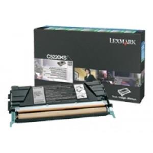 Cartouche Laser Lexmark C5220KS Noire
