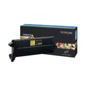 Cartouche laser Lexmark C9202YH jaune pour C920