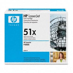 Cartouche laser HP Noire Q7551X