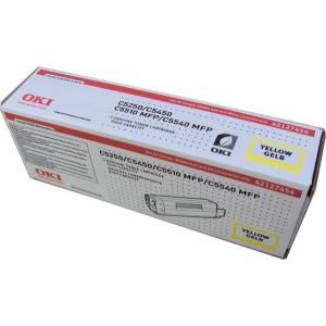 Cartouche laser Oki Jaune Haute Capacité