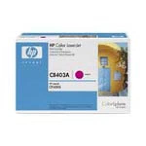Cartouche Laser HP CB403A  Magenta