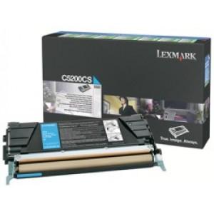 Cartouche Lexmark LRP 00C5200CS Cyan