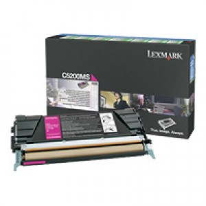 Cartouche Lexmark LRP 00C5200MS Magenta