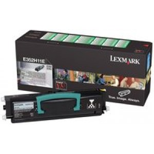 Cartouche Laser Lexmark 352H11E noire