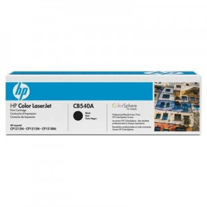 Cartouche laser HP Noire CB540A