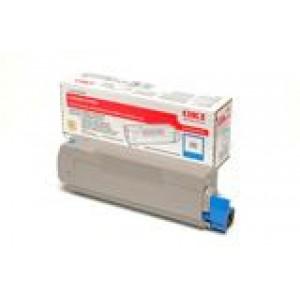 Cartouche laser Oki Cyan 43324423