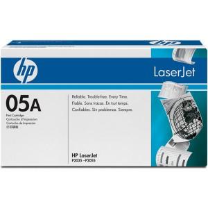 Cartouche laser HP CE505A Noire