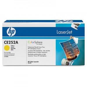 Cartouche Laser HP CE252A Couleur jaune