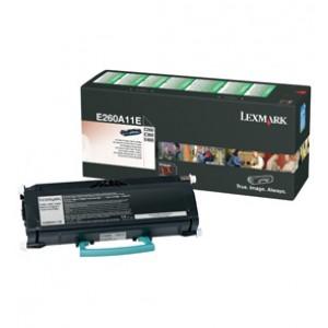 Cartouche laser Lexmark Noire pour E260 E360 E460