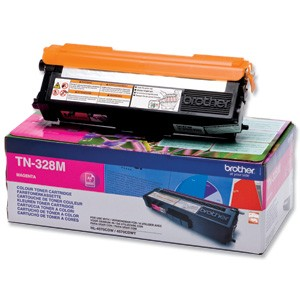 Toner laser Brother TN328M Magenta