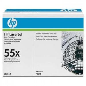 Cartouche Laser HP Noire 55X CE255X