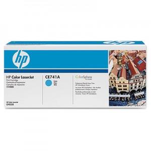 Cartouche de toner  laser HP Cyan CE741A