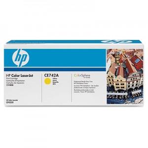 Cartouche de Toner laser HP Cyan CE742A