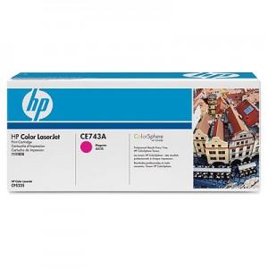 Cartouche de toner laser HP Magenta CE743A