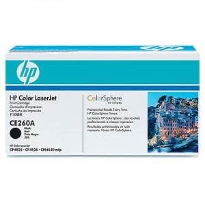 Cartouche laser HP Noire CE260A