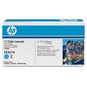 Cartouche laser HP Cyan CE261A