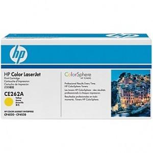 Cartouche laser HP jaune CE262A