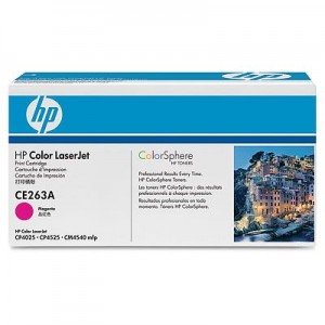 Cartouche laser HP magenta CE263A