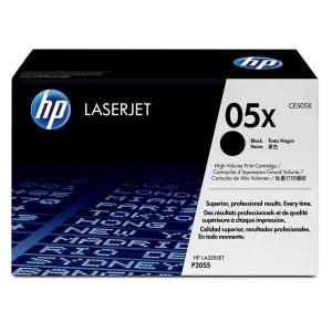 Cartouche laser HP CE505X Noire