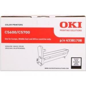 Tambour laser OKI Noire  rérérence 43381708