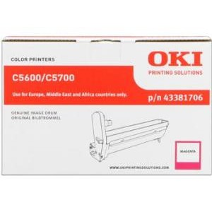 Tambour laser OKI Magenta  rérérence 43381706