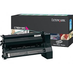 Cartouche Laser Lexmark couleur Magenta C780 C782