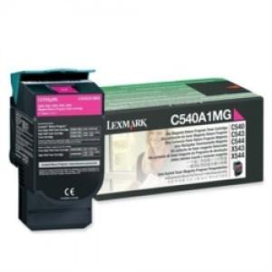 Cartouche Laser Lexmark Couleur Magenta  C540H1MG Haute Capacité