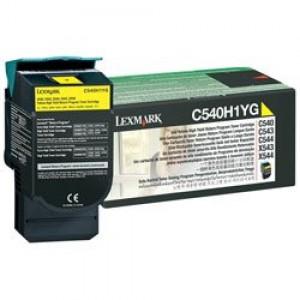 Cartouche Laser Lexmark Couleur Jaune C540H1YG Haute Capacité